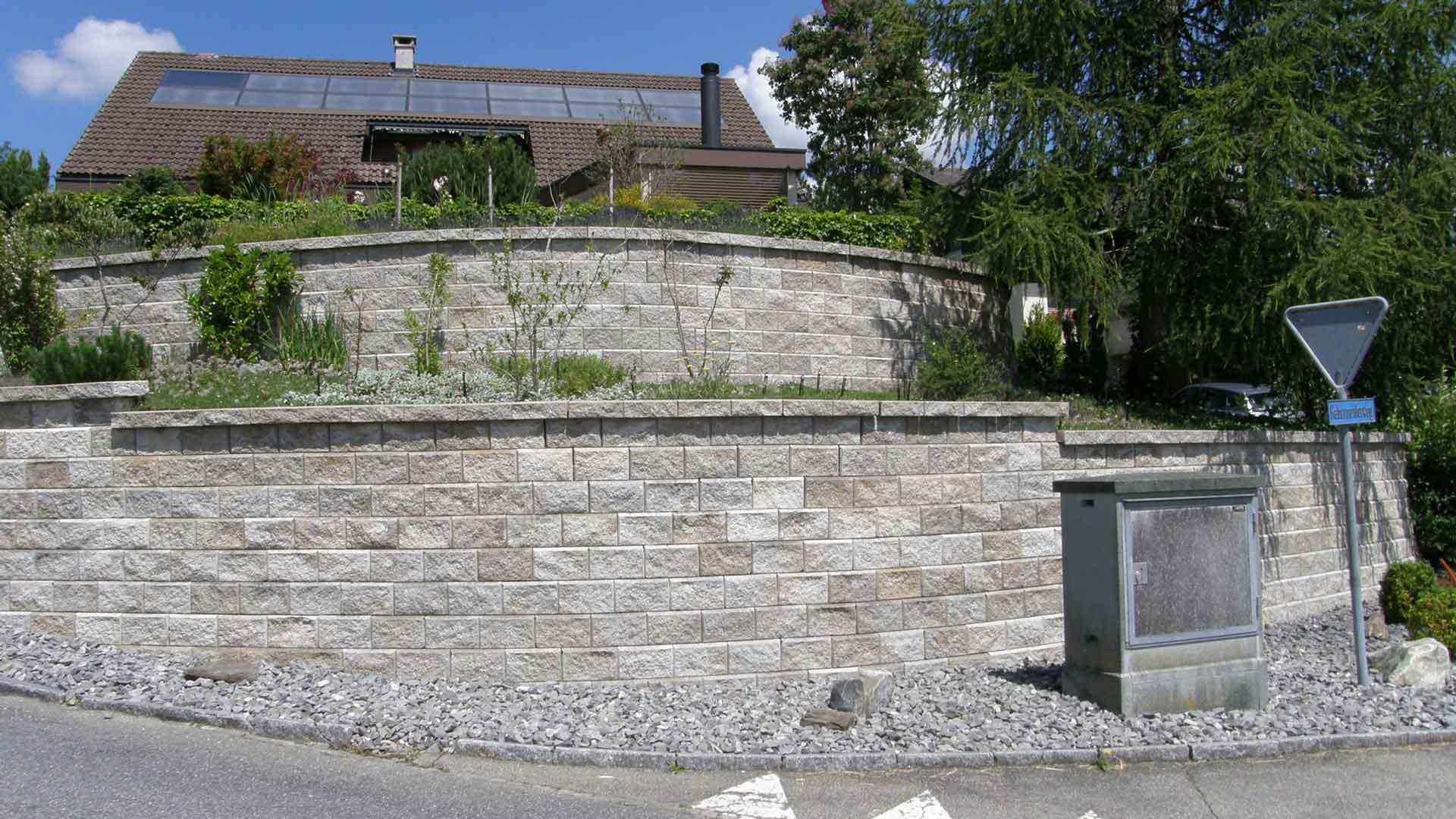 Stützmauer Allan Block